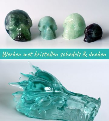 Online training werken met kristallen en draken - Fanny van der Horst van De Lichtkracht Academie