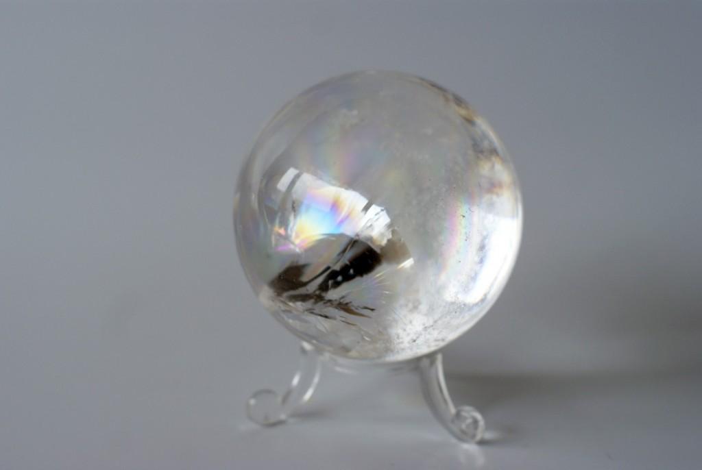 Bol van bergkristal, door Fanny van der Horst