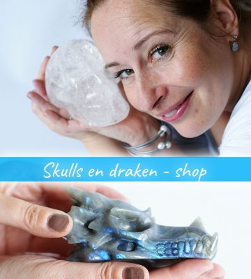 Kristallen schedels (skulls) en draken ter overname