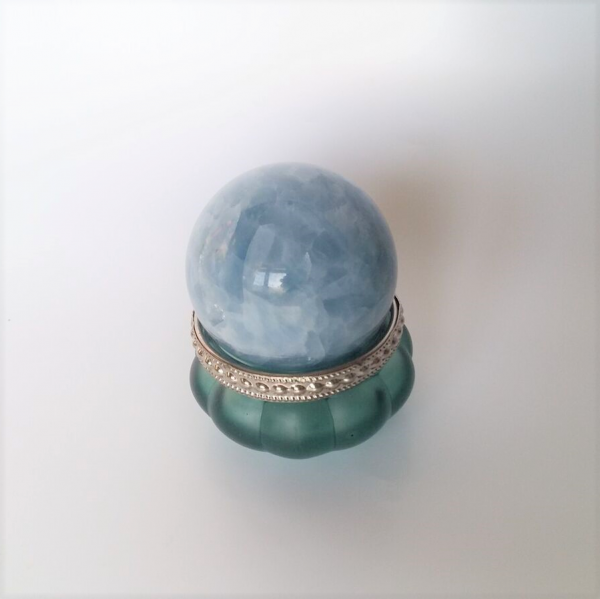 blauwe calcietbol Madagaskar 215 gr