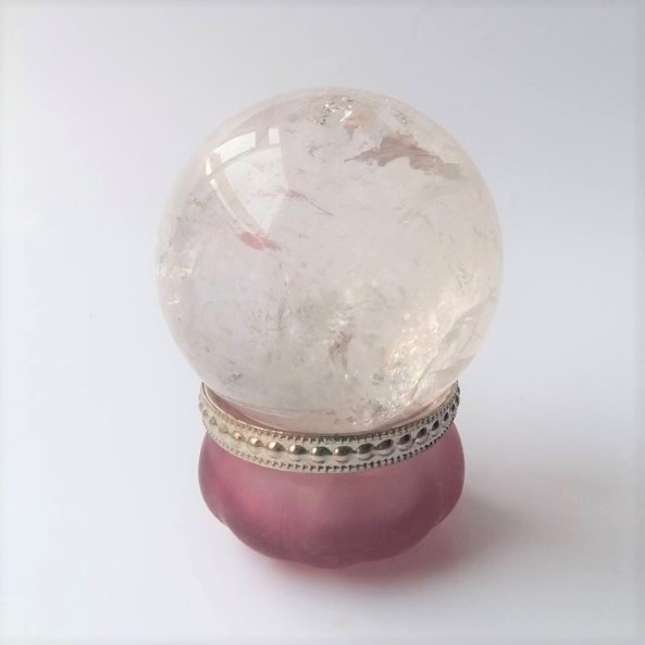 bergkristalbol 417-gram-6-cm