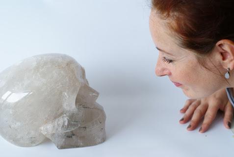 Werken met kristallen schedels - De Lichtkracht Academie