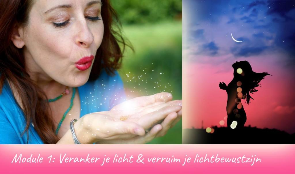 Cursus lichtbewustzijn, zelfhealing & zielsexpressie, module 1