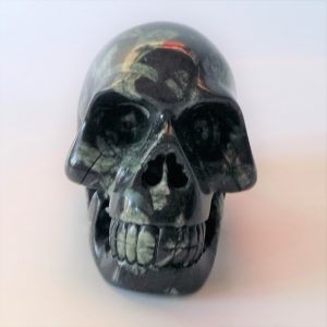 Chinese schrijfsteen skull 6 cm 275 gram