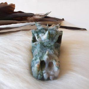 mosagaatdraak is 7 cm lang en weegt 129 gram.