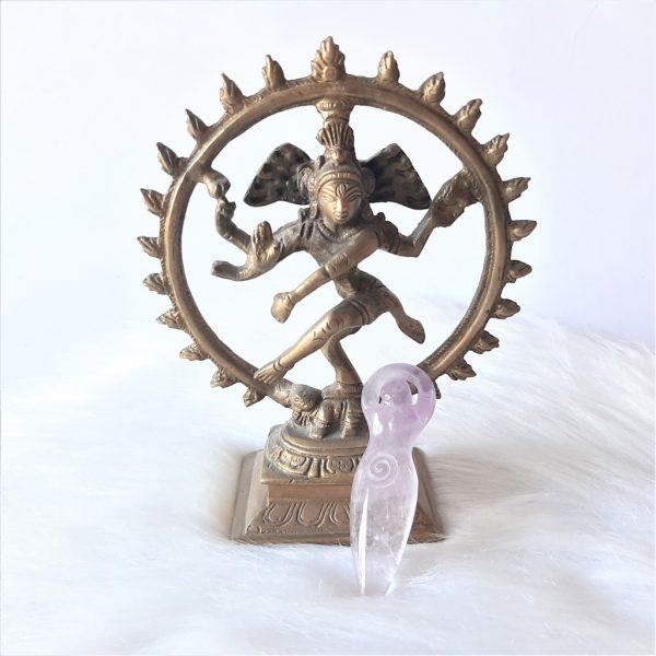 Goddess amethist 10 cm - De Lichtkracht Academie.