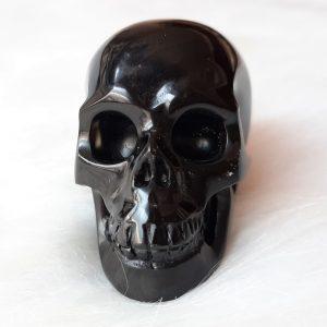 Zwarte obsidiaanskull 5 cm - De Lichtkracht Academie - https://fannyvanderhorst.nl