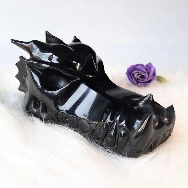 Obsidiaandraak 12.5 cm - De Lichtkracht Academie - https://fannyvanderhorst.nl/