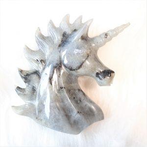lapis lazuli eenhoorn 10.3 cm - De Lichtkracht Academie