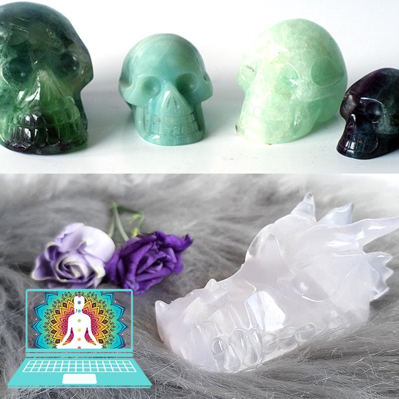 Online training werken met kristallen schedels en draken