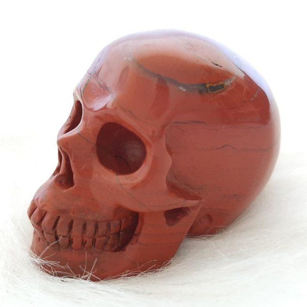 Rode jaspis schedel - De Lichtkracht Academie - fannyvanderhorst.nl
