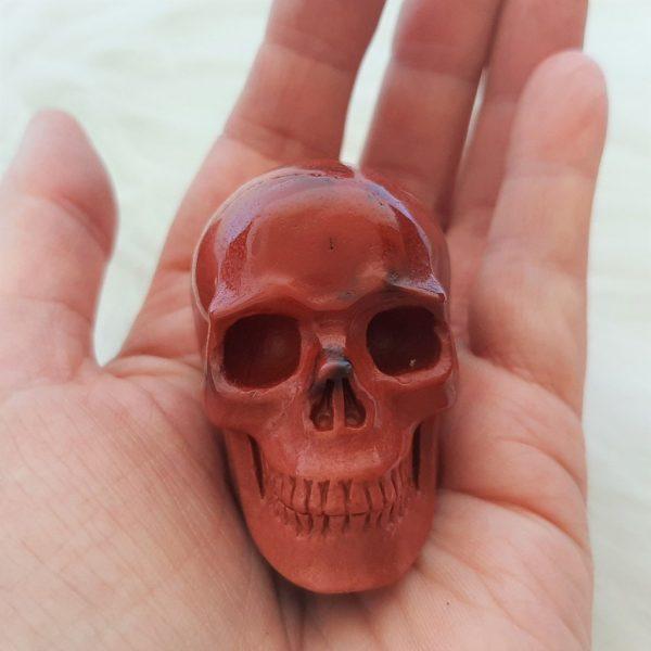 mokaiet schedel is 4.5 cm - De Lichtkracht Academie - fannyvanderhorst.nl