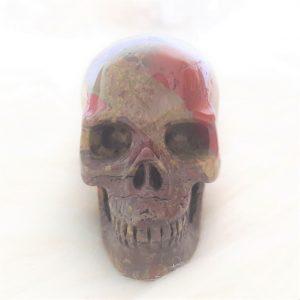 Drakenbloed jaspis skull