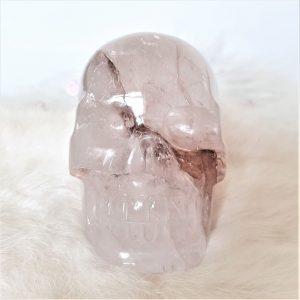 Kristallen schedel bergkristal