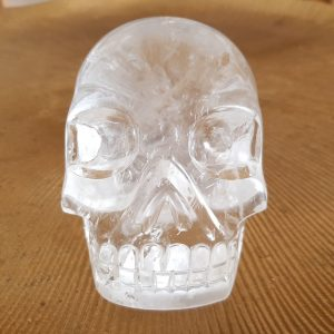 Bergkristal schedel